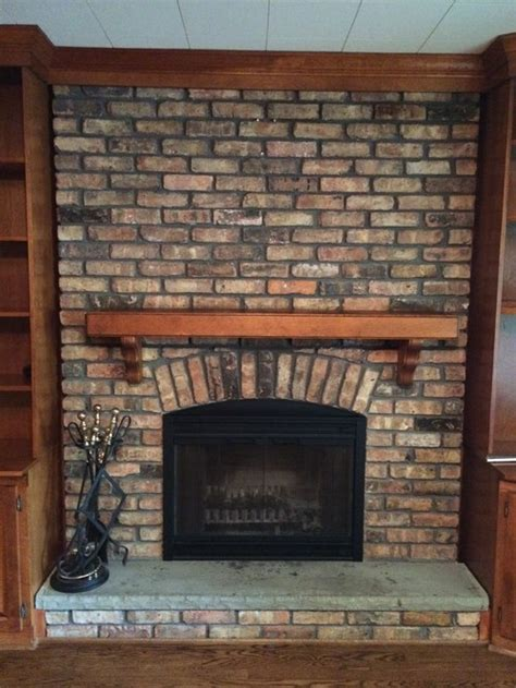 What To Do With Brick Fireplace by Paint Brick Fireplace