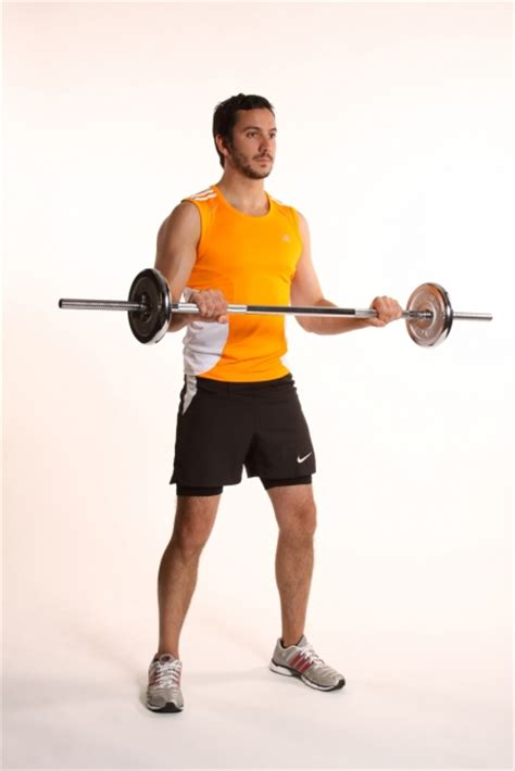 Barbel Curl bicep curl with barbell ibodz personal trainer