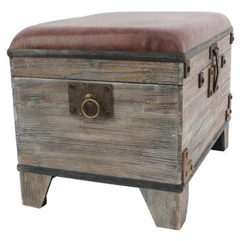 wood ottoman storage wood storage ottoman dcg stores