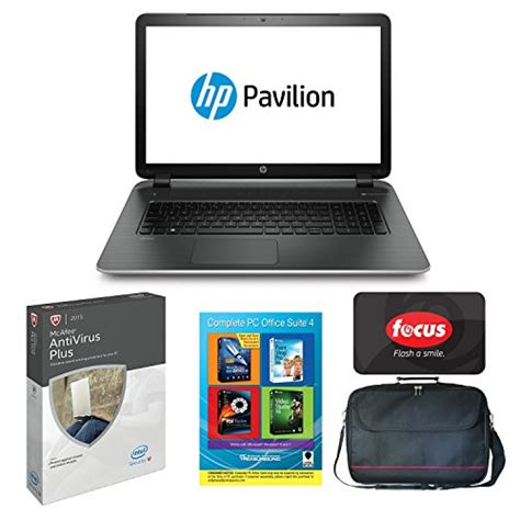 Anti Virus Hp hp pavilion 17 f029wm 17 3 quot amd a6 win 8 1 laptop office suite anti virus reviews laptop reviews