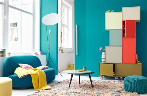 Farbe Lagune by Wandfarbe Lagune 30 Kreative Beispiele Archzine Net