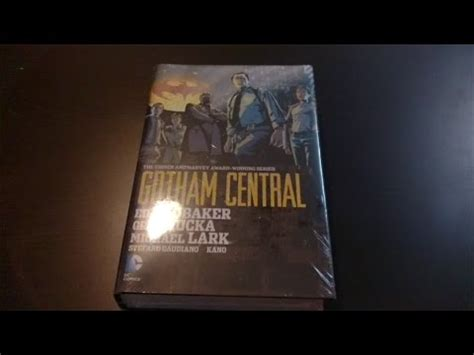 gotham central omnibus hc 1401261922 gotham central omnibus overview youtube