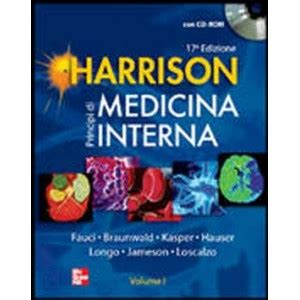 harrison principi di medicina interna libreria bonilli harrison principi di medicina interna