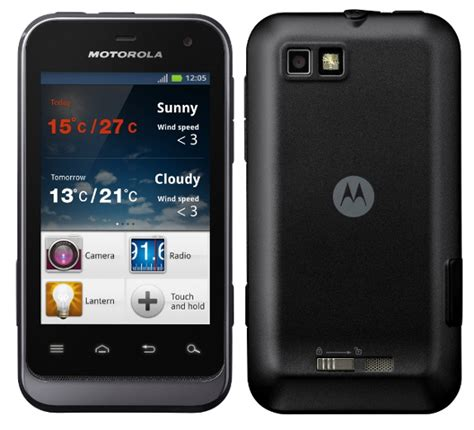 motorola android motorola defy mini rugged android phone announced