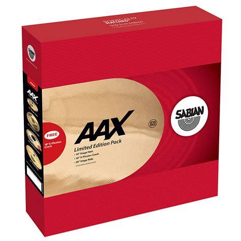 Sabian Aax Limited Edition Cymbal Pack sabian aax xplosion limited edition pack 171 cymbal set