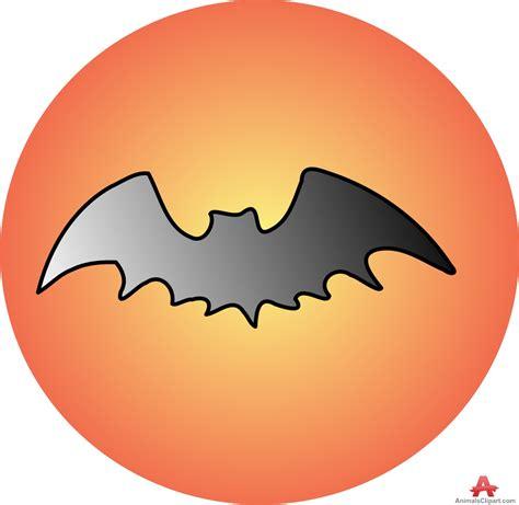 moon clipart bat