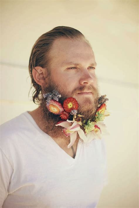 in pics men with flowers in their beards stuff co nz flower beards are the latest hipster trend on the internet