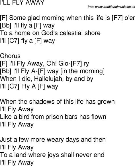 I Ll Fly Away Guitar Chords