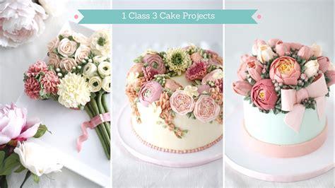 Wreath Style Korean Buttercream buttercream flowers buttercream flowers class korean buttercream buttercream cakes flower