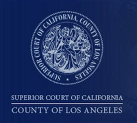 Los Angeles Superior Court Records Record On Appeal The California Of Appeal