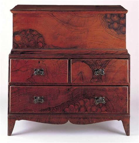 painting old drawer pulls artist unidentified maine c 1830 1840 paint on pine with