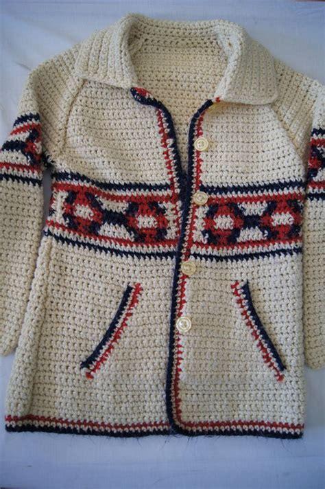 Handmade Vintage - vintage 1960 s handmade vintage sweater womens m l