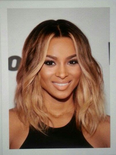 Pictures Of Short Light Brown Hair   ciara short light brown hair hair pinterest
