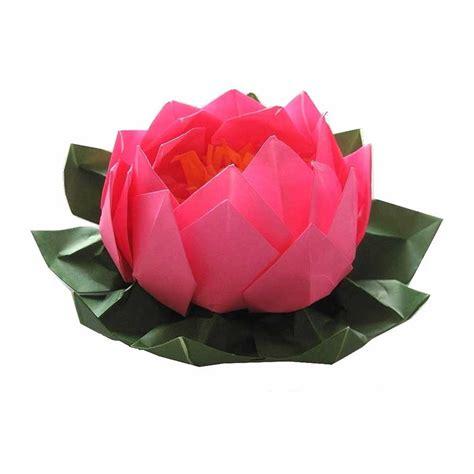 Origami Black Lotus - pink origami lotus graceincrease custom origami