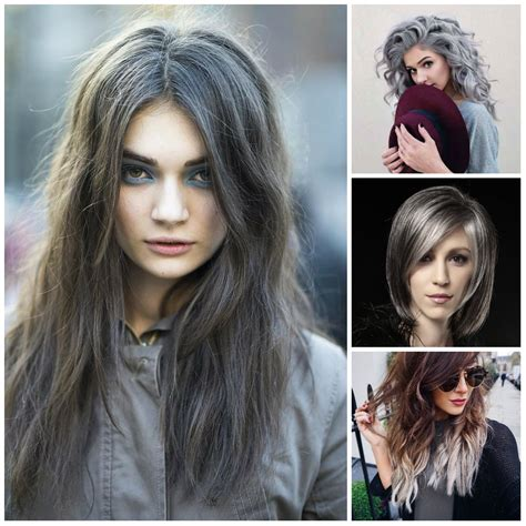 new hair color trends grey hair color trends to use in 2016 new hair color