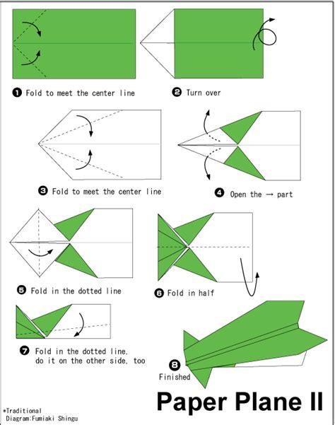cara membuat origami jet origami pesawat kertas origami paper plane