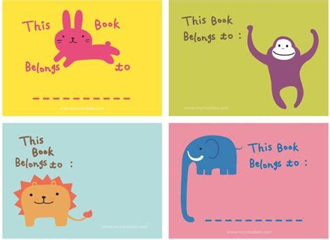 libros de animales para ninos gratis pegatinas para libros y cuadernos para imprimir