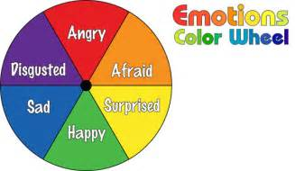 colors and emotions do2learn emotions color wheel part i