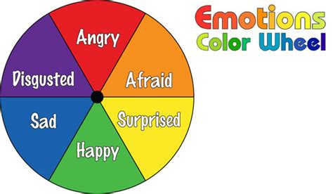 color emotions do2learn emotions color wheel part i