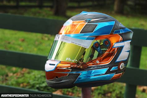 helm design karting tyler sh 13 speedhunters
