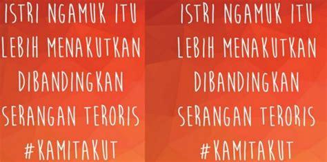 Kaos Sarinah Jakarta Kami Tidak Takut kami tidak takut teroris kami cuma takut
