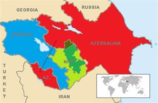 russia map azerbaijan sleeping with our enemy russia sells weapons to azerbaijan the armenian weekly