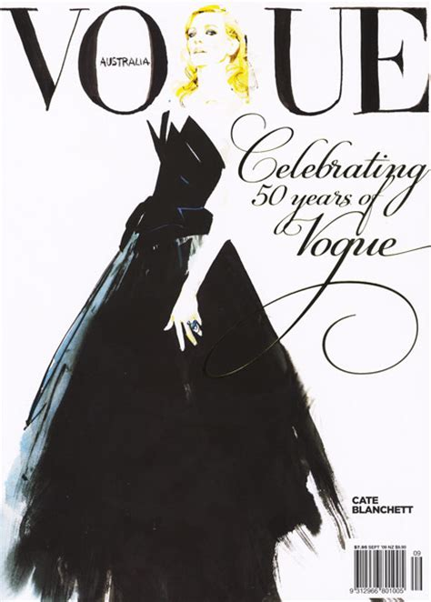 david downton fashion illustrator clients vogue