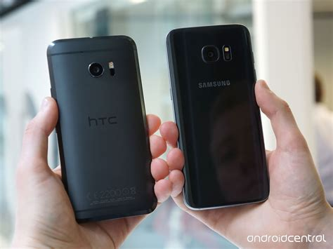 Hdc Samsung S8 Edge htc 10 vs samsung galaxy s7 edge the big android