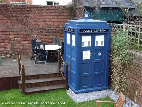 Tardis Shed Kit building a backyard shed plans cheap decking kits manchester buy a tardis garden shed