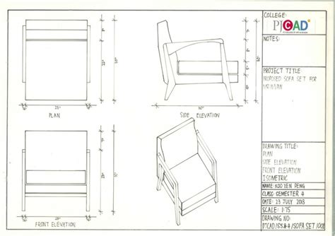 Furniture Science Proposed Sofa Set For Mr Ivvan