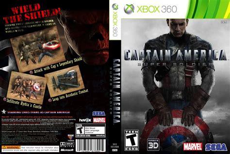 Xbox360 Captain America Soldier captain america soldier xbox 360 covers captain america soldier dvd ntsc