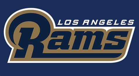 la rams colors los angeles rams unveil new logo the source