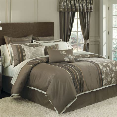elegant bedding sets cool comforter sets with elegant gray floral pattern
