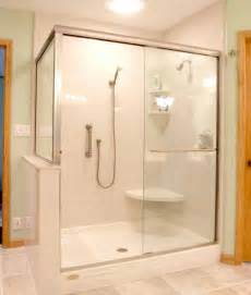 How To Replace A Bathtub In A Mobile Home Take A Seat Shower Seating Design Ideas Furniture