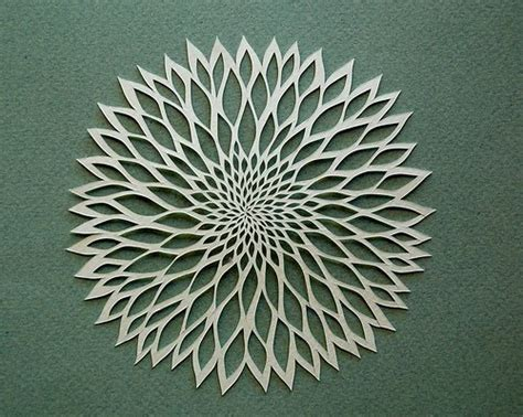 paper flower cutting pattern all things paper fine paper cutting ruth mergi