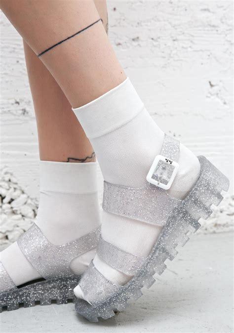 Wedges Jelly Permata Bbl501 2 juju shoes poppy jelly sandals dolls kill
