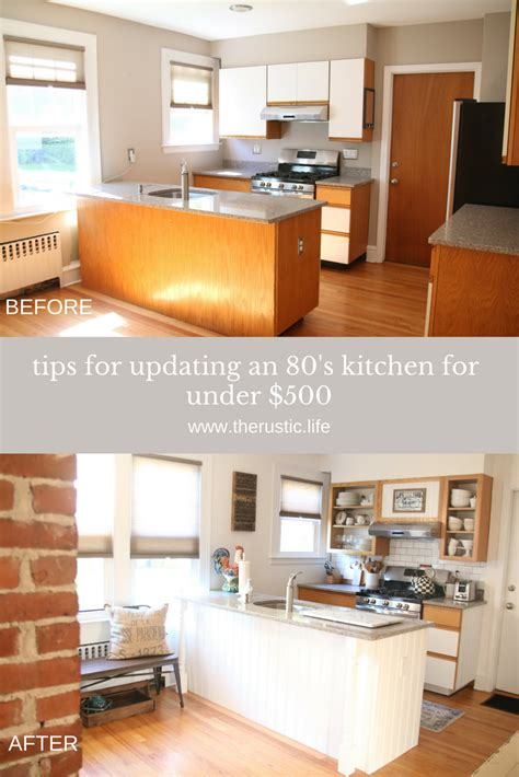 the 159 kitchen makeover revealed 80 s the rustic life floral design lifestyle blog shop page 2