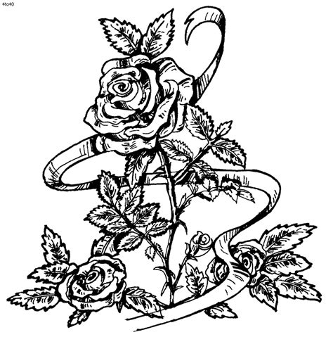 coloring pages rose az coloring pages coloring pages of roses coloring home