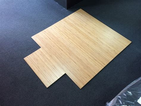 Office Floor Mats Australia Eco Friendly Bamboo Office Chair Mat Small Office