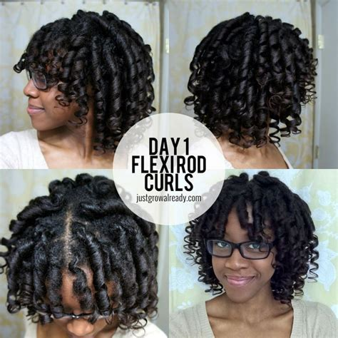 black hair with jumbo flexi rods 1000 images about curl formers flexi rods roller sets