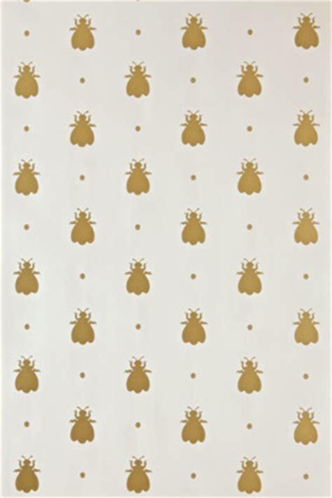 wallpaper with gold bees bumblebee bumble bee bp 507 farrow ball