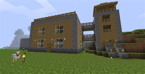 Simple Design House Minecraft Project
