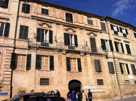 casa di leopardi recanati mc walking in the borgo of giacomo leopardi