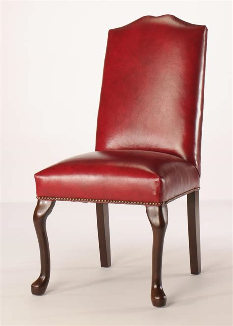 Nailhead Trim Chair by Split Camel Back Dining Chair With Nailhead Trim