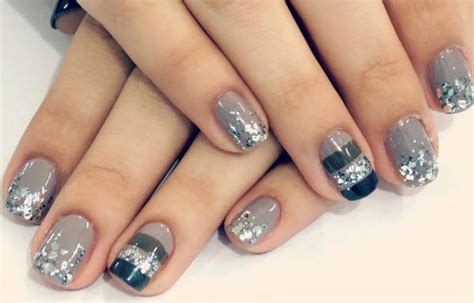 imagenes de uñas en blanco y plata u 241 as decoradas color gris u 241 asdecoradas club