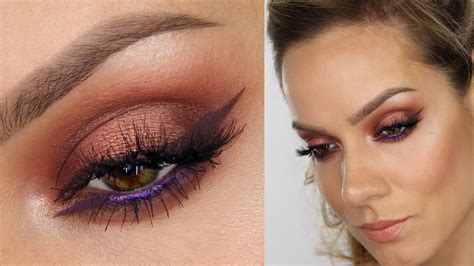 8 Makeup Tips For The Heat by Copper Eyeshadow Makeup Tutorial Decay Heat