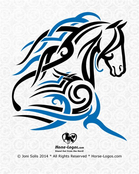 horsebox design graphics horse logo art of horses