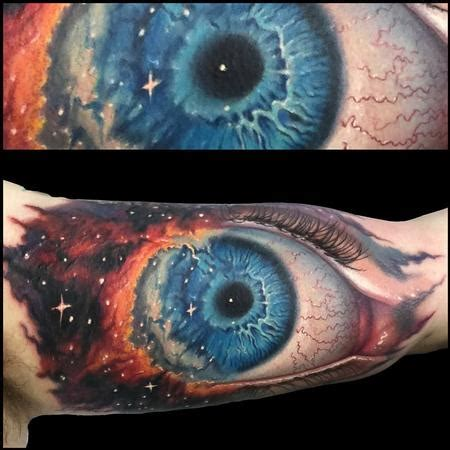 eye of god tattoo powerline tattoos evan olin gods eye nebula