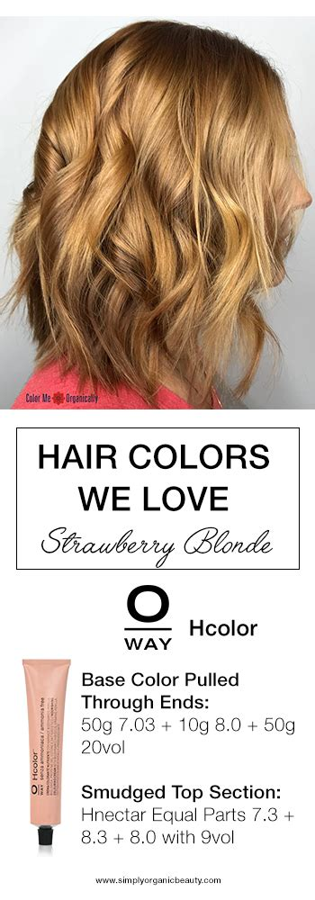 strawberry blonde hair color formula trending hair colors this week with formulas simply