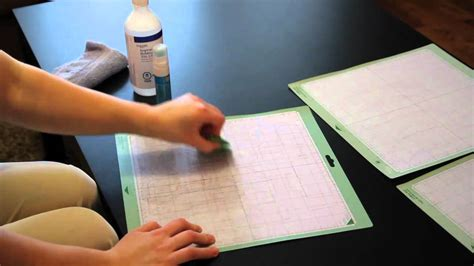 How Do I Clean A by Episode 1 How To Clean Restick Your Cricut Mats